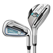 Women's Adams Blue Combo Iron Set 4H, 5H, 6-PW Graphite Lady Flex
