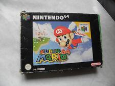 Super Mario 64 - Nintendo 64 -PAL - ANGLAIS