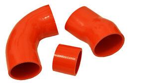 ASTRA ZAFIRA GSI silicone intake hoses Z20LET Z20LEL Z20LER 70mm MAF - RED