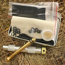 Brass Fire Piston Kit Outdoor Camping Hunting Survival Fire Starter Tube Tool