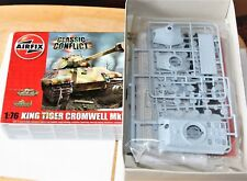 AIRFIX  TIGER 2  only the tiger tank in the box 1/76
