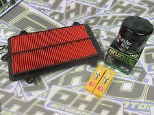 Öl & Luftfilter & Zündkerzen Service Kit für Suzuki tl1000r TLR 1998-2002 NEU