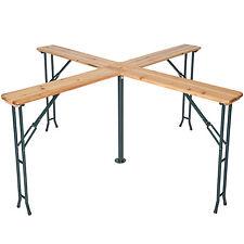 Tavolo alto birra quattro pieghevole bar giardino legno birreria portaombrelli