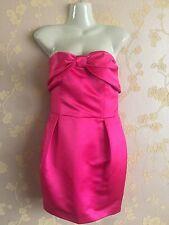 Lashes Of London Women's Pink Strapless Dress Size:12UK BNWT RRap:£75
