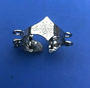 VINTAGE CAMPAGNOLO DOUBLE GEAR CABLE HOUSING STOP,CHROMED,FRAME FIT,L'EROICA
