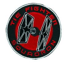 Tie Fighter Squadron Patch Iron on Applique Star Wars Alternative Clothing