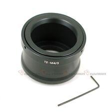 T2 T Lens to Micro 4/3 M4/3 adapter For Olympus E-P5 OM-D EM10 Panasonic G1X GX7