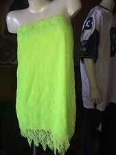 Neverland Fairy Tinkerbell Stretchable Teen Dress~Cute Halloween Costume~SZ~M/L
