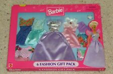 Barbie 6 Fashion Gift Pack Fashions NEW SEALED Original Box 1997 Arcotoys Mattel