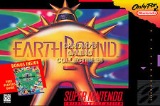 RGC Huge Poster - Earthbound Mother 2 BOX ART Super Nintendo SNES - EAR007