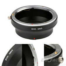 EOS-M4/3 Adapter Ring for Canon EOS EF Lens To Micro 4/3 Olympus Panasonic M43