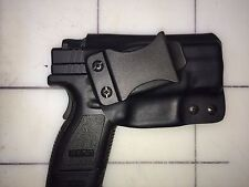 IWB Holster for Springfield XD Sub Compact 9 or 40  - Adj Retention-15 Deg Cant