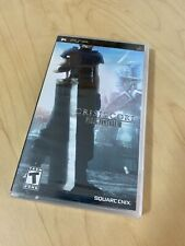 Crisis Core Final Fantasy Vii 7 Psp New Sealed Playstation Rare Black Label