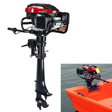 Boat Engine 4-Stroke Outboard Motor 7HP 173cc Fishing Boat Outboard Engine US