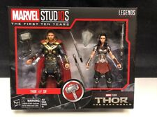 HASBRO MARVEL LEGENDS THE FIRST 10 YEARS THOR & SIF THE DARK WORLD 2 PACK