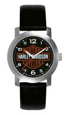 Harley-Davidson Men's Bar & Shield Leather Wrist Watch 76A04