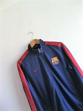 NIKE | Men's N98 BARCELONA Loyal Blue & Red Football Track Jacket | Size M