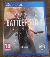 EXCELLENT CONDITION ( BATTLEFIELD 1 ) BRILLIANT PS4 GAME