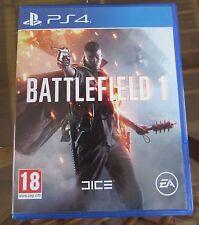 Excelente Estado (juego de Battlefield 1) brillante PS4