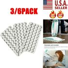 3/6pc Steam Mop Pads Replacement For Shark Vacuum S1000 S1000A S1000C S1000WM