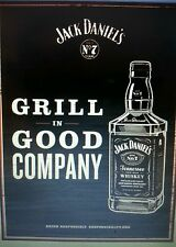 Jack daniels grill poster 18 by 26