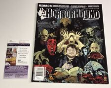 Guillermo Del Toro Signed Horror Hound Magazine IN PERSON Autograph RARE JSA COA