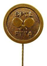 Finland Finnish Table Tennis Association Ping Pong SPTL FTTA Old Sport Pin Rare