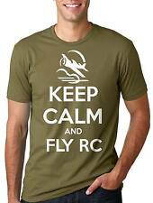 RC T-shirt RC Plane Jet Tee Shirt Keep calm and Fly RC Remote Controlled Tee