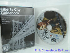 Grand Theft Auto IV (Sony Playstation 3, 2008) Complete w/ map
