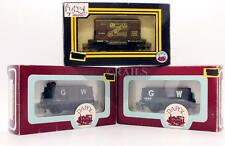 DAPOL & GRAHAM FARISH 'OO' GAUGE RAKE OF 3 ASSORTED GOODS WAGONS (3Y)