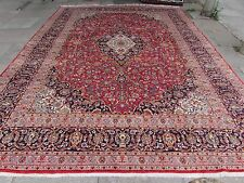 Fine Old Hand Made Traditional Persian Rugs Oriental Wool Red Carpet 405x299cm