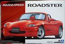 2000 Mazdaspeed Roadster Mazda MX 5 Miata JDM 1:24 Aoshima 057698