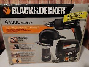 Black and Decker4 120V AC -Tool Combo Kit ** Not Cordless**