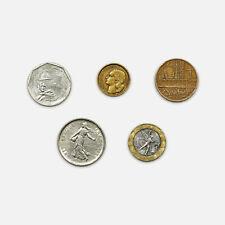 5 diff. France coins nice circ.