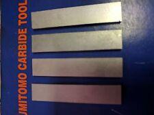 4x SUMITOMO Carbide Parting Blades, grade M3, size 3mmx10mmx50mm