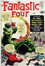 Fantastic Four 1 Facsimile Reprint Cvr Only w/Orig Ads 1st app FF Marvel Age!!!