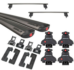 Rola Roof Rack Cross Bars For 09-22 Dodge RAM 1500 2500 3500 For Cargo Kayak Kit