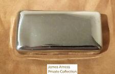 James Arness Gunsmoke Marshal Dillon Jim's Vintage Chrome Travel Soap Container