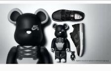 Nike SB Zoom Dunk Low Elite QS 10 Medicom BearBrick DENIM Black Grey 877063-002