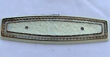 True Vintage Back Plate for Drawer handle Pull gold brass shabby white 6 inch