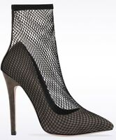 New Ladies Womens High Stilettos Heel Sock Style Court Shoes Sizes 3 4 5 6 7 8