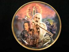 DANBURY MINT LORD OF THE RINGS FORCES OF DARKNESS PLATE BY MADE BY WEDGWOOD