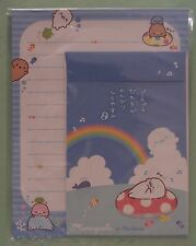 San-X Letter Sets Mamegoma Rainbow