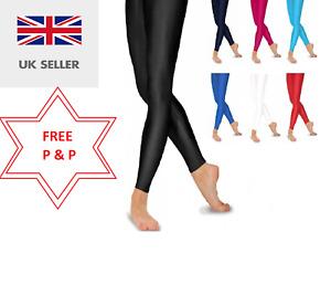 Ladies Nylon Shinny Leggings S/M, M/L, X/L