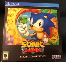 Sonic Mania [ Collector's Edition ] (PS4) NEW