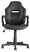 Mid Back Office Gaming Chair - Black - X045