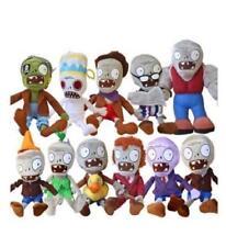 Plants Vs Zombies Lot 11pcs Plush Toy Split Bean 6'' Soft Stuffed Doll Kids Baby