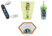 Disney Store Miles From Tomorrowland 4pc Dinnerware Set Bowl Fork Spoon Cups NWT