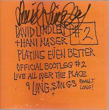 #2 * by David Lindley & Hani Naser (CD, 1995) Original Signed