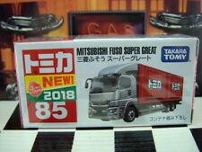 TOMICA #85 MITSUBISHI FUSO SUPER GREAT NEW IN BOX